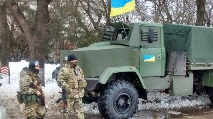 В Одессу прибыли автоматчики Нацгвардии