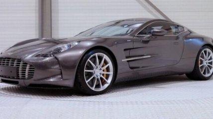 Редкий суперкар Aston Martin Zagato выставлен на продажу в Британии