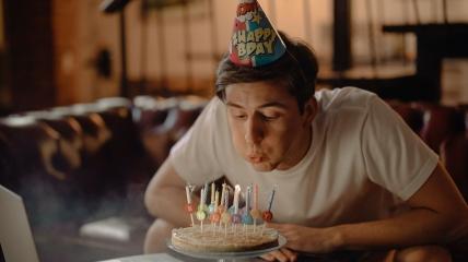 День рождения мужчины