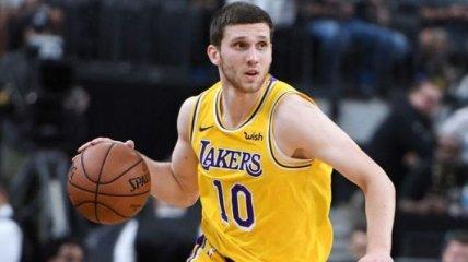 Михайлюк помог Лейкерс обыграть Чикаго в НБА