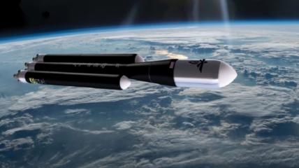 Космическая ракета Alpha