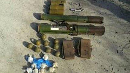 В Красногоровке СБУ обнаружила тайник с гранатометами