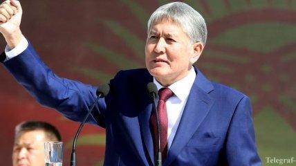 Семейное имущество Атамбаева арестовано прокуратурой Киргизии