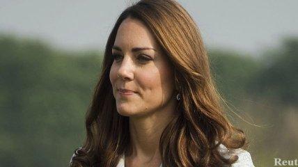 Кейт Миддлтон со дня на день станет матерью