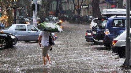 В Украине ожидаются сильные ливни, грозы и град