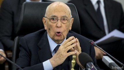 """Президент Италии уйдет в отставку """"в ближайшее время"""""""