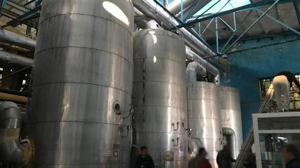 Цех сахарного завода