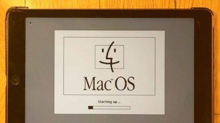 Mac OS 7.5.5 запустили на iPad Air 2