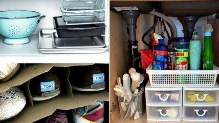 Порядок в доме - очень просто: идеи для хранения вещей