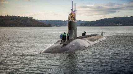 Подводная лодка ВМФ США Connecticut