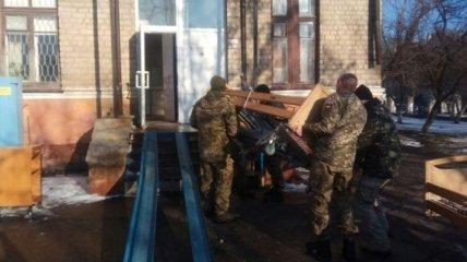 Военному госпиталю на Донбассе передано около 5 тонн гуманитарной помощи