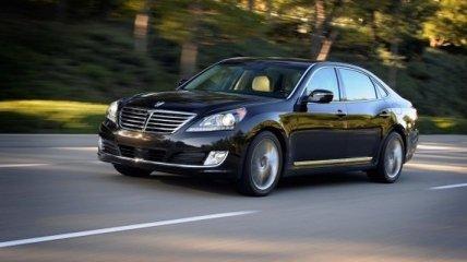 Новый седан Hyundai Equus представят в декабре