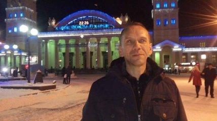 Из плена террористов освободили украинского журналиста