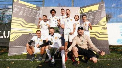 "Команда Football Hub одержала ""золото"""