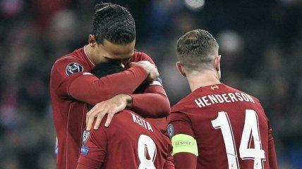 Ливерпуль не дал Зальцбургу шансов на выход в плей-офф Лиги чемпионов