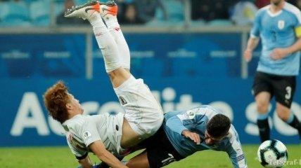 Уругвай - Япония: лучшие моменты матча (Фото)