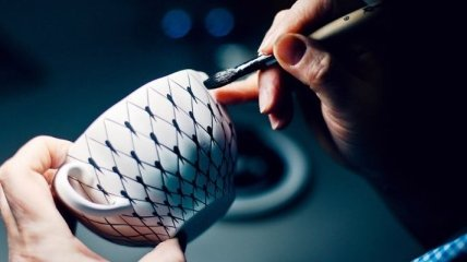 Как создаются фарфоровые шедевры (Фото)