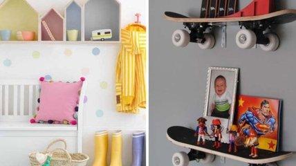 Забавные и креативные полки для детской комнаты (Фото)