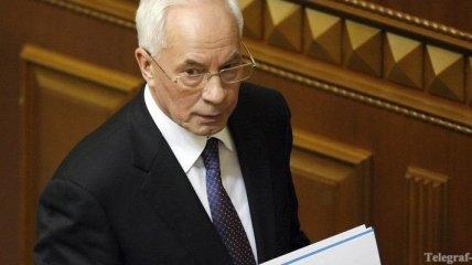 Азаров: Правительство не планирует повышать налоги