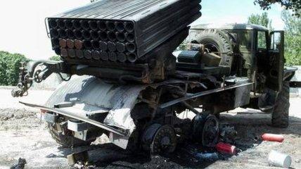 """Террористы обстреляли окраину Луганска из установок """"Град"""""""