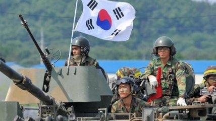 Южная Корея повысила уровень боеготовности на границе с КНДР