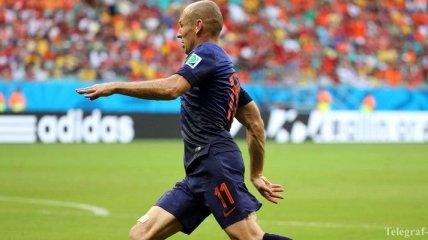 Голландец Роббен - самый быстрый футболист в мире  (Видео)