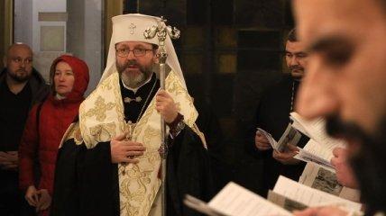 """""""Если потребуется, церкви станут госпиталями"""": Глава УГКЦ обратился к врачам"""