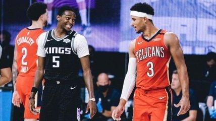 Сакраменто Леня победил Нью-Орлеан в НБА (Видео)