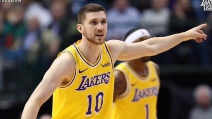 Михайлюк помог Лейкерс обыграть Даллас в НБА