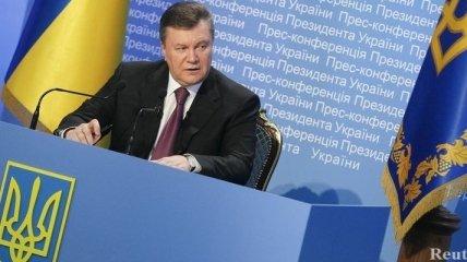 Янукович: Мы ожидаем постепенного оживления деловой активности