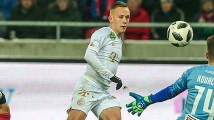 Петряк попал в символическую сборную чемпионата Венгрии