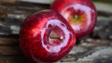 Ученые сравнили магазинные и домашние яблоки
