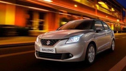 Suzuki Baleno показали на новых фото
