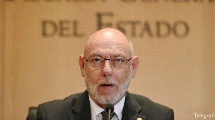 Генпрокурор Испании выдвинул два иска против каталонских политиков