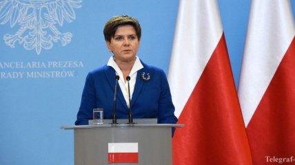 Польский премьер требует извинений от Шульца