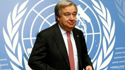 Генсек ООН выступает за сохранение соглашения по атому с Ираном