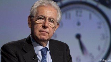 Монти - нейтральная кандидатура на пост премьер-министра Италии