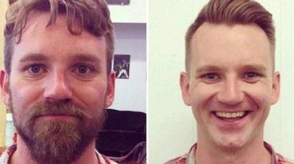 Как борода меняет внешность мужчинам (Фото)