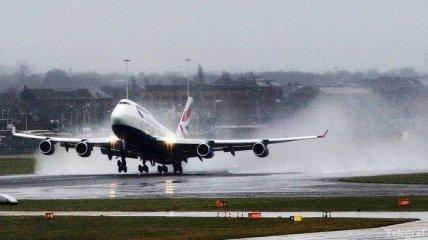 В Лондоне из-за сильного ветра отменили несколько авиарейсов