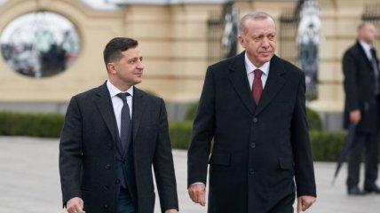 Зеленский и Эрдоган обсудили возможность транспортировки каспийского газа