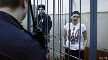 Савченко планирует голодать еще две недели