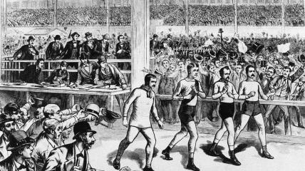 В 19 веке на некоторое время на пик популярности в Америке поднялись соревнования по ходьбе на экстремальную выносливость