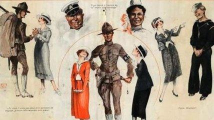 """""""Высокая мода"""" времен Первой мировой войны (Фото)"""