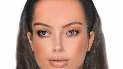 Ученые показали идеальное женское лицо