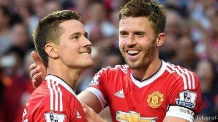 """""""Манчестер Юнайтед"""" назначил капитана и вице-капитана"""