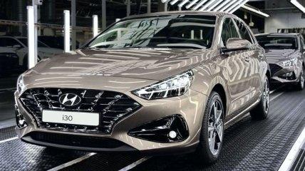 Обновленный Hyundai i30 встал на конвейер