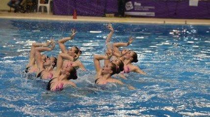 Украинские синхронистки выиграли два золота на этапе Мировой серии в Греции