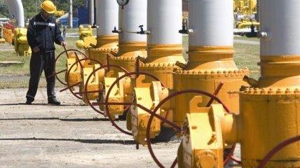 Украина за 8 месяцев сократила импорт газа на 34%