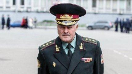 Печерский райсуд Киева избрал меру пресечения экс-руководителю Генштаба ВСУ