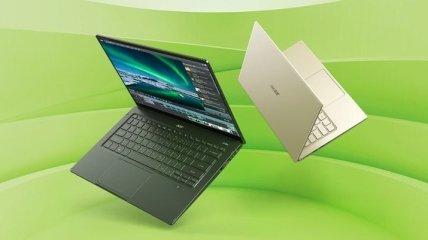 Acer Swift 5: компания представила первый ноутбук с процессором Intel 11-го поколения